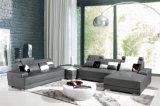 Sofá moderno do couro da mobília com o secional para o jogo do sofá da sala de visitas