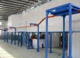 Línea de pintura de la capa del polvo de la alta calidad para el área industrial