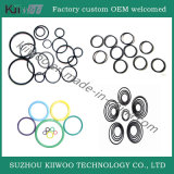 Joint circulaire en caoutchouc de joint de Viton de silicones faits sur commande de prix usine de qualité