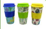 BPA liberan la taza de bambú de la fibra de Eco (YK-BC1017)