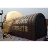 Tarpaulin PVC Inflatable Helmet Tunnel