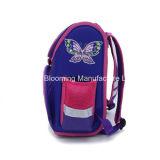 Mädchen-scherzt purpurroter Basisrecheneinheits-Rucksack Mochila wasserdichten Schule-Rucksack-Beutel