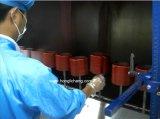 Línea de recubrimiento UV para polvo y pistola para piezas plásticas