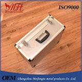 Cas en aluminium de combat de valise professionnelle d'approvisionnement