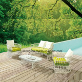 Sofa extérieur neuf extérieur de jardin prix populaires de modèle des bons réglé avec la table basse (YT893)