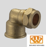 Brass Knelkoppeling Female Elbow FXC
