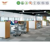 Compartiments de partition de bureau de système bureautique de poste de travail de bureau (MAKER-S-01-1X2)