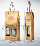 Caixa ondulada com divisores, caixa do vinho da caixa do vinho, caixa do vinho