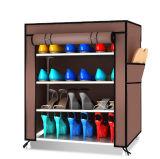Gewebe Mordon Schuh-Speicher-Organisator-Schrank mit vielen Farben