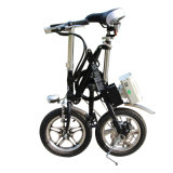 Batería de litio plegable Bicycle/16, 18, bici eléctrica de la ciudad de 20 pulgadas/bicicleta plegable del acero de carbón de la aleación de aluminio