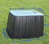 """"""" cassetta di controllo di plastica della valvola di rettangolo 12 per irrigazione del giardino di agricoltura"""