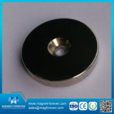 Magneet van de Pot van de Kop van het Neodymium van de Magneet van de Kracht van de Trekkracht van de zeldzame aarde de Sterke