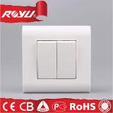 Qualität 220V 2 Methoden-modulare Wand-Schalter der Gruppe-2