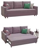Le sofa de tissu avec retirent le bâti dans grand
