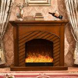 現代ホーム家具簡単なLEDはつける暖房の電気暖炉(344)を