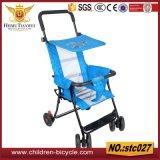 Carrinhos de criança de bebê ao ar livre do guiador das rodas do assento quatro da segurança dos miúdos do ano novo 4 In1 para a venda por atacado