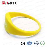MIFARE DESFire 4k V. 06 RFID NFC Wristband del silicio