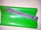 شحن مسيكة [غرمنت بغ] بلاستيكيّة مع ختم صوف لصوقة