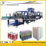 Machine d'emballage pour emballage rétréci