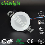 9W 고성능 CREE/Epistar는 천장 점화 LED Downlight를 잘게 썬다