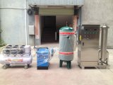 Sistema de ozônio industrial 400gram para tratamento de água de torre de resfriamento