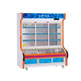 Bom refrigerador de Oder do prato da temperatura do dobro da selagem com luz do diodo emissor de luz