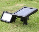 Indicatore luminoso di inondazione di alta qualità LED dell'indicatore luminoso di via di alto potere LED solare con il certificato del Ce del sensore di movimento