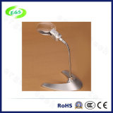 De draagbare LEIDENE Lamp van Magnifier, Desktop/Handvat Magnifier Loupe met LEIDEN Licht (egs5b-6)