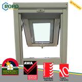 UPVC/PVCのWindowsのドアの製造業者、PVC日除けのガラス窓