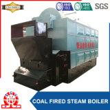 石炭によって発射される煙管ボイラ操作