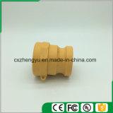 Accoppiamenti di plastica/rapidamente del Camlock accoppiamenti (Tipo-Un), colore giallo