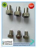 Peças fazendo à máquina da maquinaria do CNC do metal/bronze/aço de alumínio/inoxidável para a maquinaria
