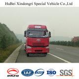 camion-citerne aspirateur de poudre de charbon de bois de l'euro 3 de 37cbm FAW avec le moteur diesel de Dachai