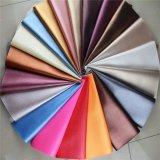 Cuoio sintetico del cuoio del sofà del PVC del reticolo del litchi per mobilia (806#)