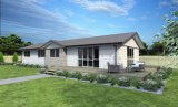 간단한 그러나 실제적인 Coutry 집 조립식 가옥 집