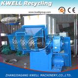 Shredder/PVCの管のシュレッダーをリサイクルする単一シャフト