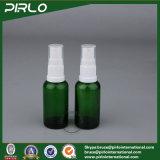 15ml 0.5oz grüner kosmetischer Spray-Flaschenglas-wesentliches Öl-Gebrauch-Glasflaschen-Duftstoff-nachfüllbare Flasche mit feinem Nebel-Sprüher