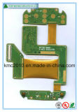 A placa do PWB do cabo flexível, Rígido-Flexiona a placa de circuito, placa de FPC