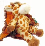 Baby Travel Giraffe Soft Stuffed Blanket