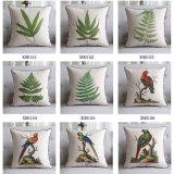 Amortiguadores al aire libre impresos lino del sofá del algodón para la decoración de los sofás
