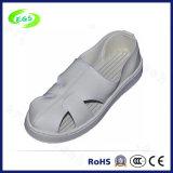 De witte Schoenen van het Leer van pvc ESD (egs-pvc-603)