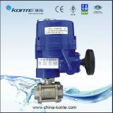 Dispositifs d'entraînement électriques anti-déflagrants avec le robinet à tournant sphérique 3PC