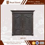 Puerta principal de aluminio de la puerta de entrada de la seguridad de la técnica del grabado de la puerta 3D del diseño agradable de la casa