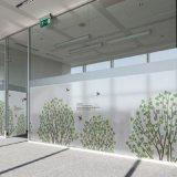 Пленка стеклянного окна низкой цены изготовленный на заказ крупноразмерная декоративная