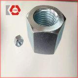 Noce placcata zinco dell'accoppiamento di esagono DIN6334