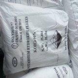Flocons d'hydroxyde de potassium KOH N ° CAS: 1310-58-3