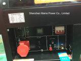 10kVA 10kw bewegliche Dieselphase 220/380V des generator-einphasig-3