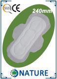Privata etiqueta OEM mini toalla sanitaria para uso diurno