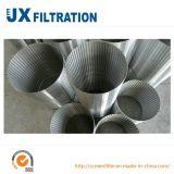 Ecrans de puits d'eau en acier inoxydable pour forage de puits