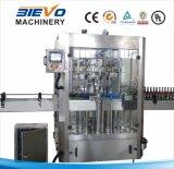 Máquina que envuelve del animal doméstico de la botella de agua de la escritura de la etiqueta automática del encogimiento